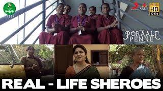 Real Life Sheroes   Poraali Penne   7UP Madras Gig S2   Keba Jeremiah  Ko Sesha