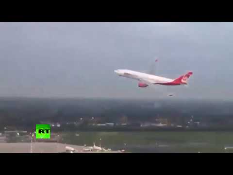 'It's too high!': Investigation launched into Air Berlin pilot's maneuver