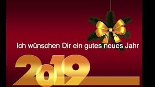 Frohes, neues Jahr. Neujahrswünsche 2019