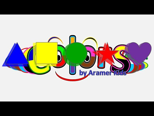 Fun Learning Shapes Triangle Square Circle Star Heart Colors