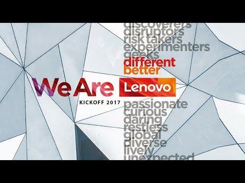 We Are Lenovo Kickoff