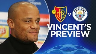 WE SWITCH ON FOR EVERY GAME | Kompany on City in the Champions League | Basel v City