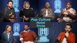 "'Hotel Artemis' Cast Plays ""Pop Culture Hotel Trivia"""