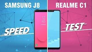 Speedtest Realme C1 và Galaxy J8: Rẻ hơn có ngon hơn?