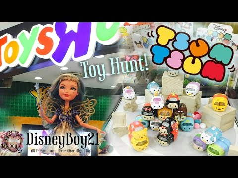Toys R Us Singapore Toy Hunt - Monster High | Disney Tsum Tsum + Daiso Japan