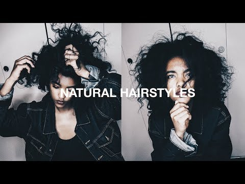 20 Natural Hairstyles for Teens and College Students