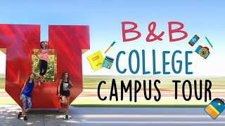 Brooklyn & Bailey's 1st College Campus Tour | Behind the Braids Ep.8