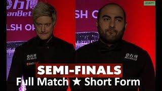 Neil Robertson vs Hossein Vafaei S/F ᴴᴰ  W O 2019 ( Short Form )