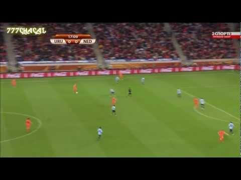 Gol de Giovanni Van Bronckhorst Holanda vs Uruguay.wmv
