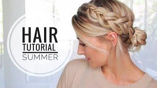 Sommer Frisur - Notfall Frisur, ohne Haare waschen | OlesjasWelt