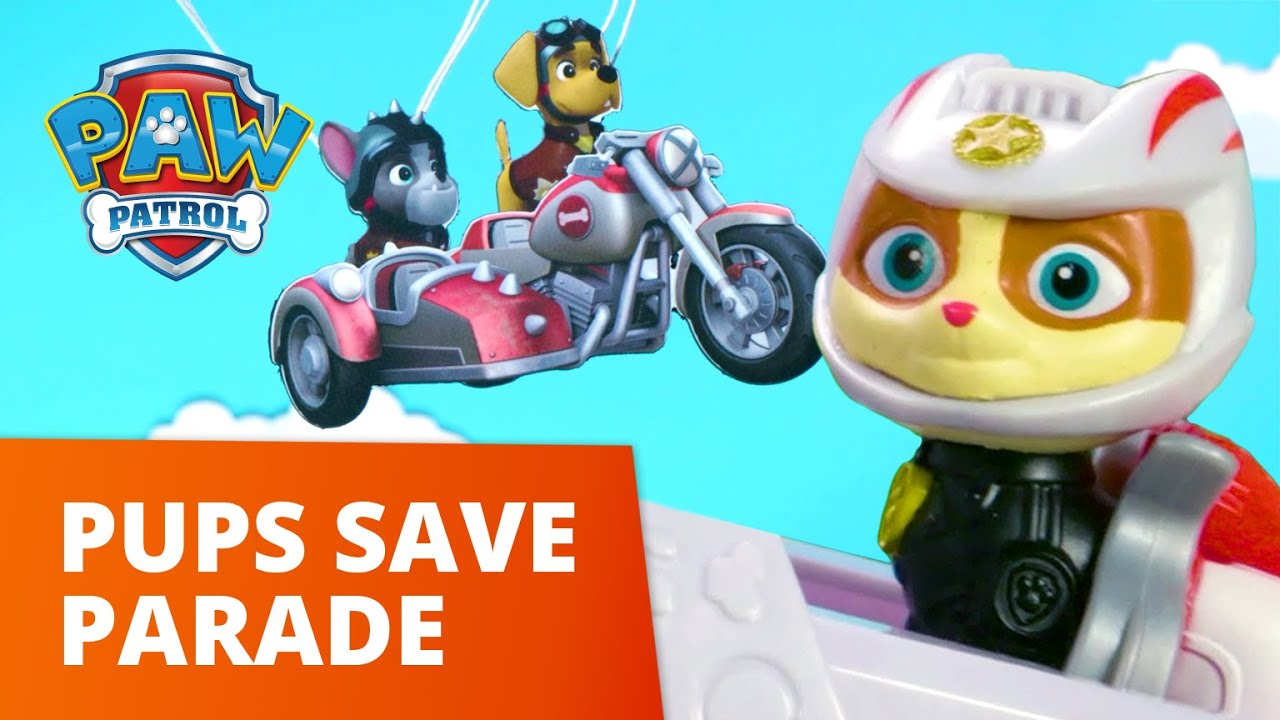 Download PAW Patrol Moto Pups - Pups Save the Parade! - Toy Episode - PAW Patrol Official & Friends
