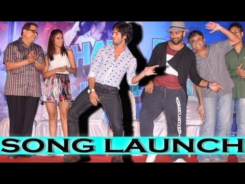 Shahid Kapoor And Ileana D'Cruz At 'Phata Poster Nikhla Hero's' 'Tu Mere Agal Bagal' Song Launch