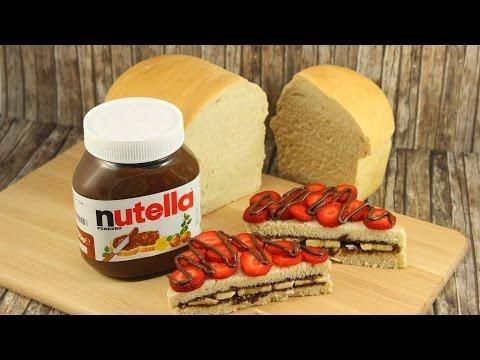 Weißbrot backen | nutella Sandwichtörtchen | Tag des deutschen Brotes | Gewinnspiel geschlossen