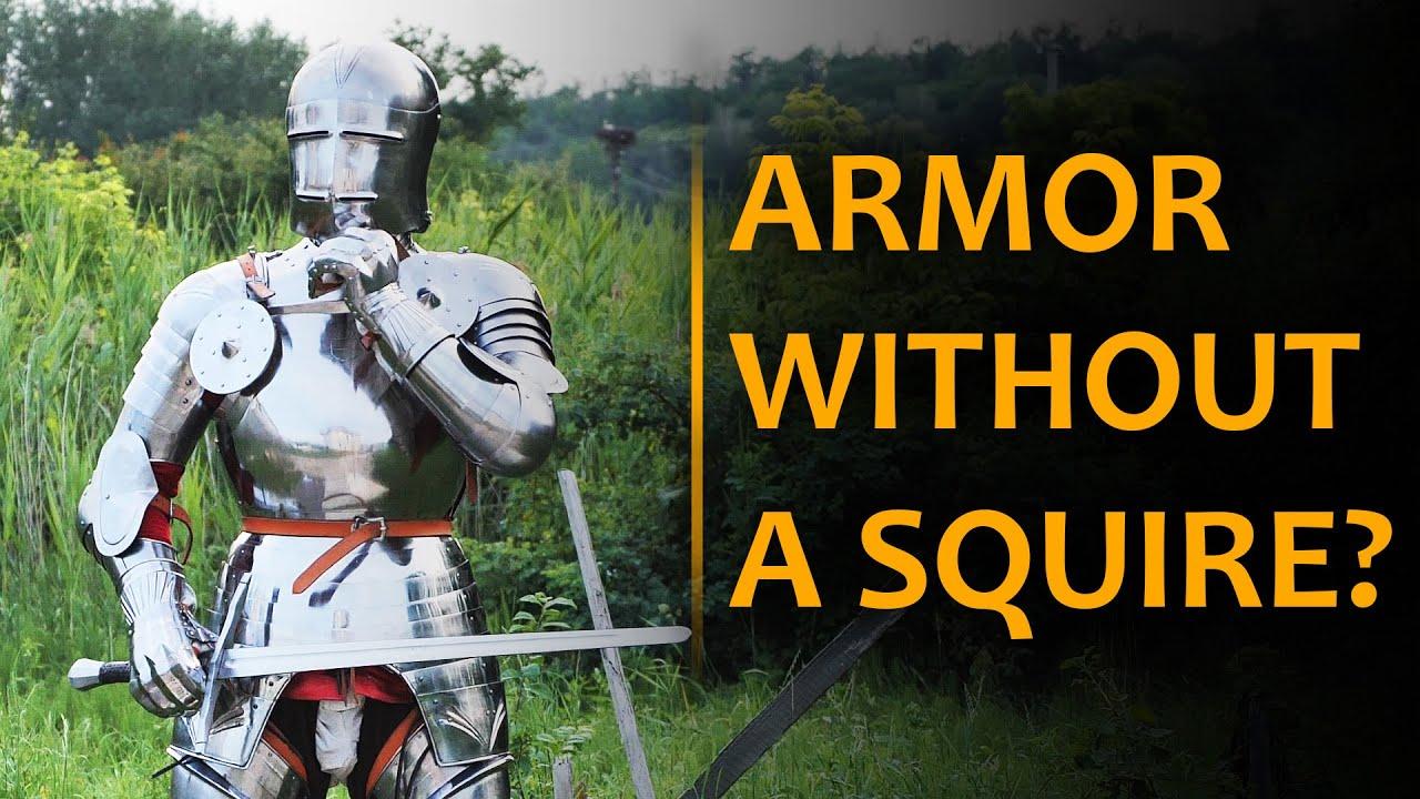 Надеть доспех без оруженосца? Von Hellingen Armor #shorts