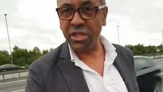 James Cleverly MP faces accusations after motoring incident