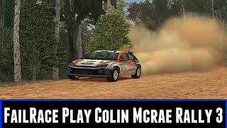 FailRace Play Colin Mcrae Rally 3