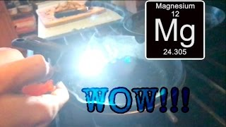 What happens when you set magnesium on fire?!?!