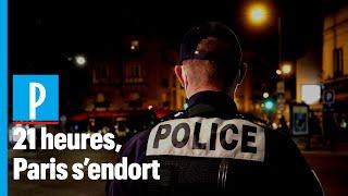 Paris :  la police mobilisée pour faire respecter le couvre-feu