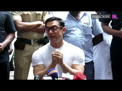 Aamir Khan Celebrate Eid | Press Conference | 2016