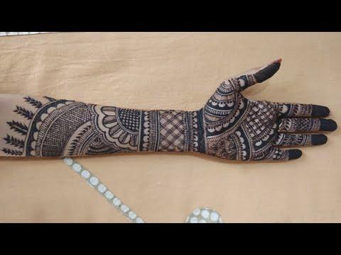 Bridal Mehndi Design For  Hand ! Latest Mehendi Design! Full Hand Mehandi Design #02 thumbnail