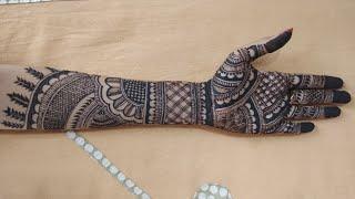 Bridal Mehndi Design For  Hand ! Latest Mehendi Design! Full Hand Mehandi Design #02
