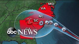 Category 4 Hurricane Florence barrels toward East Coast