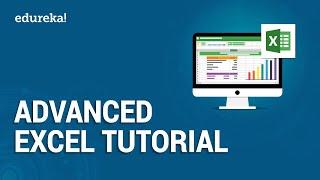 Advanced Excel Tutorial | Excel Training | Edureka