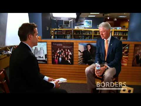 PRESIDENT BILL CLINTON Talks about Giving: How Each of Us Can Change the World