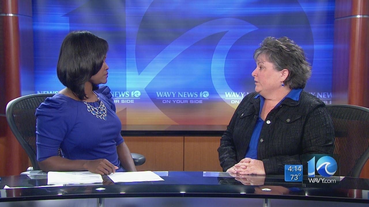 Anita Blanton interviews infection preventionist Bonnie ...