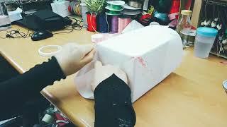 【禮物包裝-方塊禮物篇】方形禮物包裝放慢示範|愛禮物達人教學