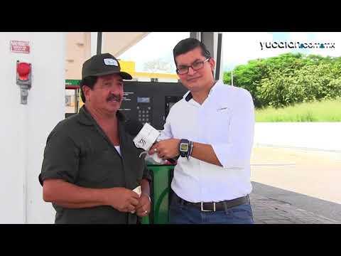 Gasolinera de Mérida invita a comprobar sus litros