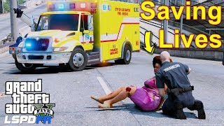 GTA 5 LSPDFR EMS #34 | Play As A Paramedic Mod | Brand New Durastar Ambulance