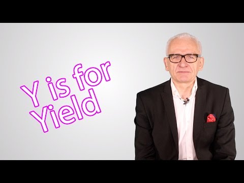 Y is for Yield - The Elite Investor Club's A - Z of Investing