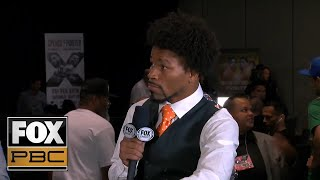 Shawn Porter joins the PBC on Fox crew after a heated press conference from Los Angeles | PBC ON FOX