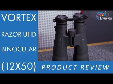 Vortex Razor UHD Binocular (12x50) Review | LancasterArchery.com