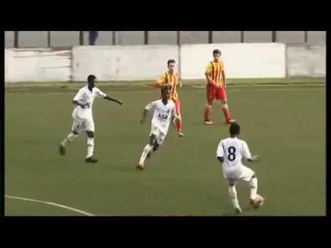 Lawrence Ofori Ofensive Midfield (Feyenoord Ghana vs FC Barcelona)