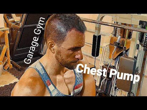 Chest and tricep workout from home garage gym youtube