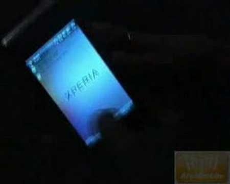 Sony Ericsson Xperia X1 first glance at MWC