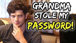 """Grandma stole my password & blocked ALL HOMESCHOOLERS"" 