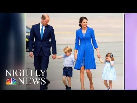 Prince William And Kate Middleton Expecting Baby No. 3 | NBC Nightly News