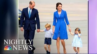 Prince William And Kate Middleton Expecting Baby No  3 | NBC Nightly News