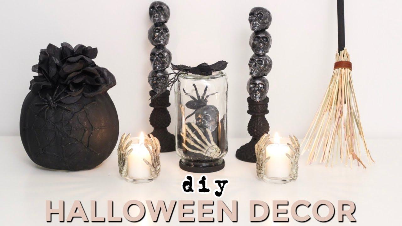 5 Easy Diy Halloween Decoration Ideas 5 Or Less