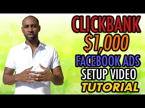 BEST Step By Step Guide For Affiliate Marketing On Facebook Ads For Clickbank 2018