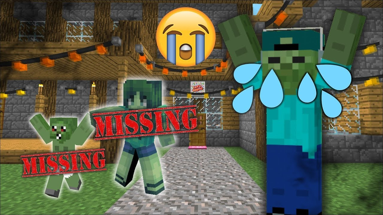 Mc Naveed And Mark Friendly Zombie Find Missing Marie And Baby Zombie Dangerous Minecraft - roblox zombies youtube