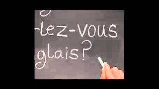 Learning French language with sound