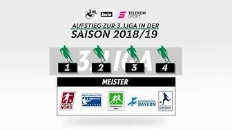 Regionalliga: Erklärvideo zur neuen Aufstiegsregelung bis 2020