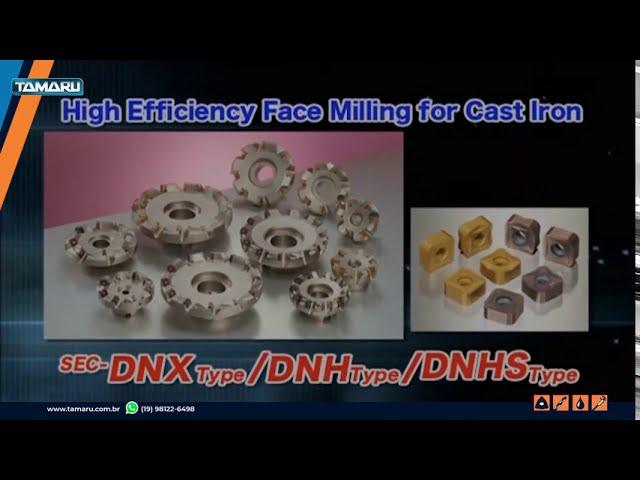 Conheça as Fresas DNX da Sumitomo