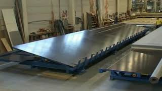 Butterfly Table   Floor Production