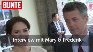 BUNTE TV - Mary & Frederik von Dänemark im Interview!