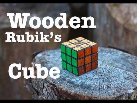 Making a Wooden RUBIK'S CUBE! 1st Ever Made in the WORLD!